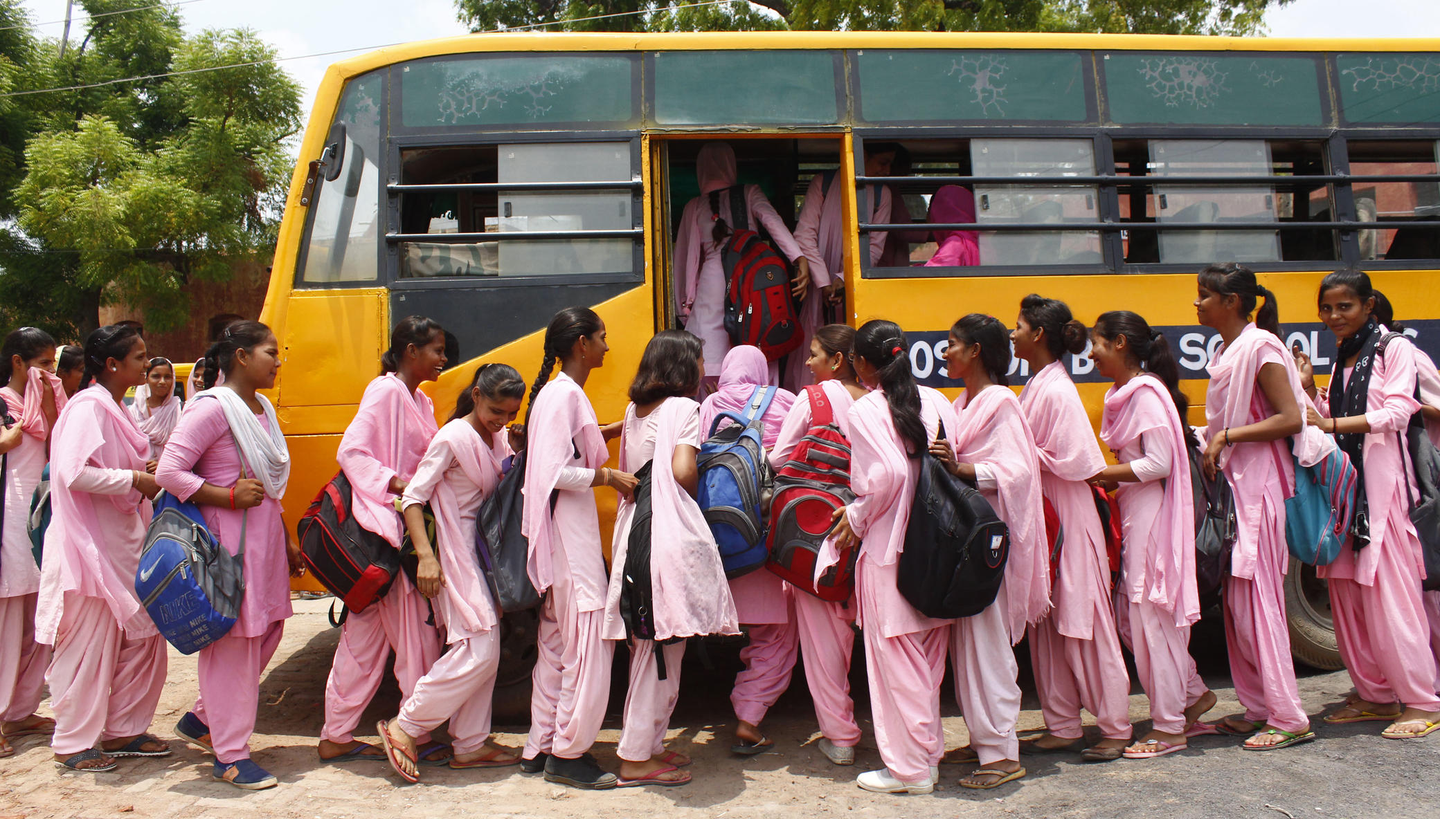 The Blossom Bus: Help Rural Girls Get To School!