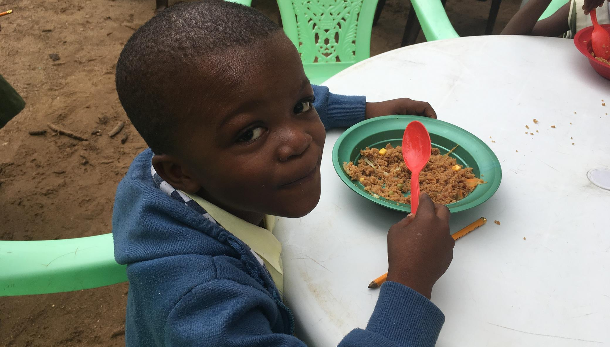 The kids kitchen: daily meals in the wake of Ebola