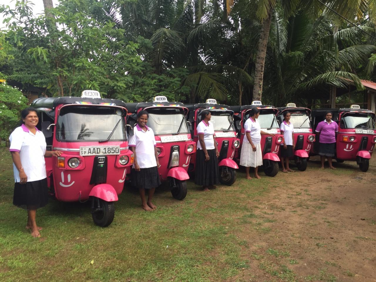 Think pink Sri Lanka - women driving for women
