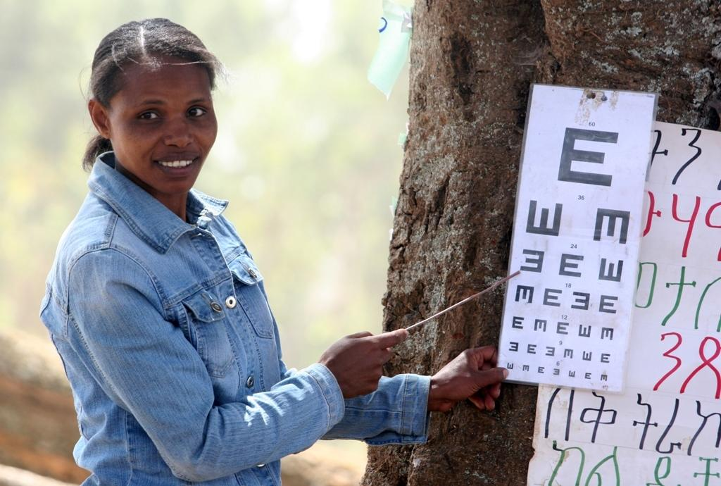 Training Teachers in Ethiopia to Save Sight