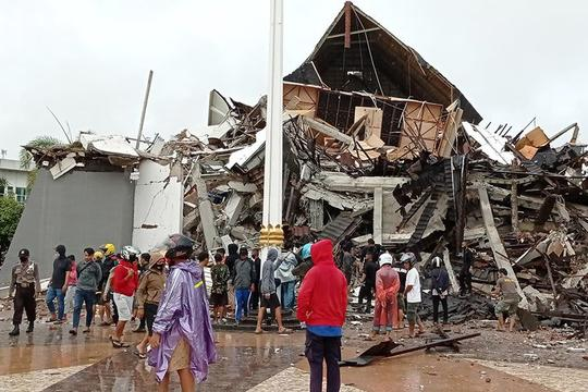 Emergency Response: the Majene, Indonesia M 6.2 Earthquake