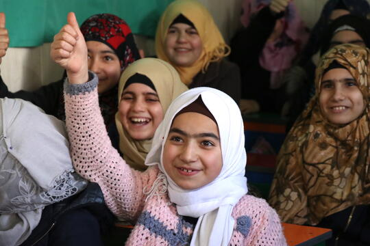 Girls Education and Civil Documentation for Syrian Refugees in Lebanon