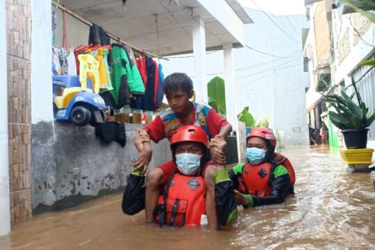 Food Assistance for the 2021 Jakarta Floods Affected People
