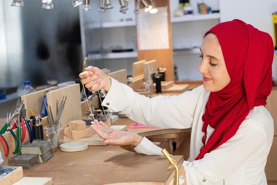 Support Artisan Entrepreneurs from Syria and Jordan