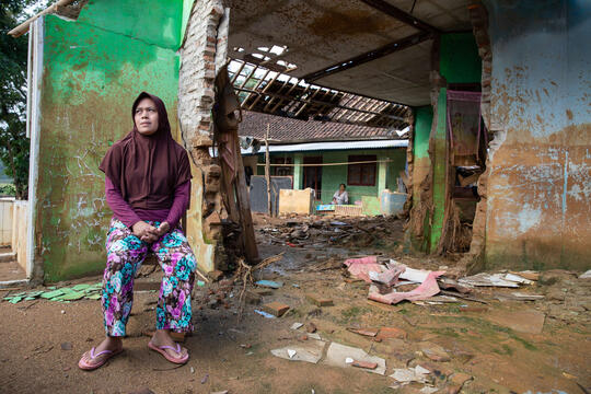 Supporting communities facing a double threat in Indonesia