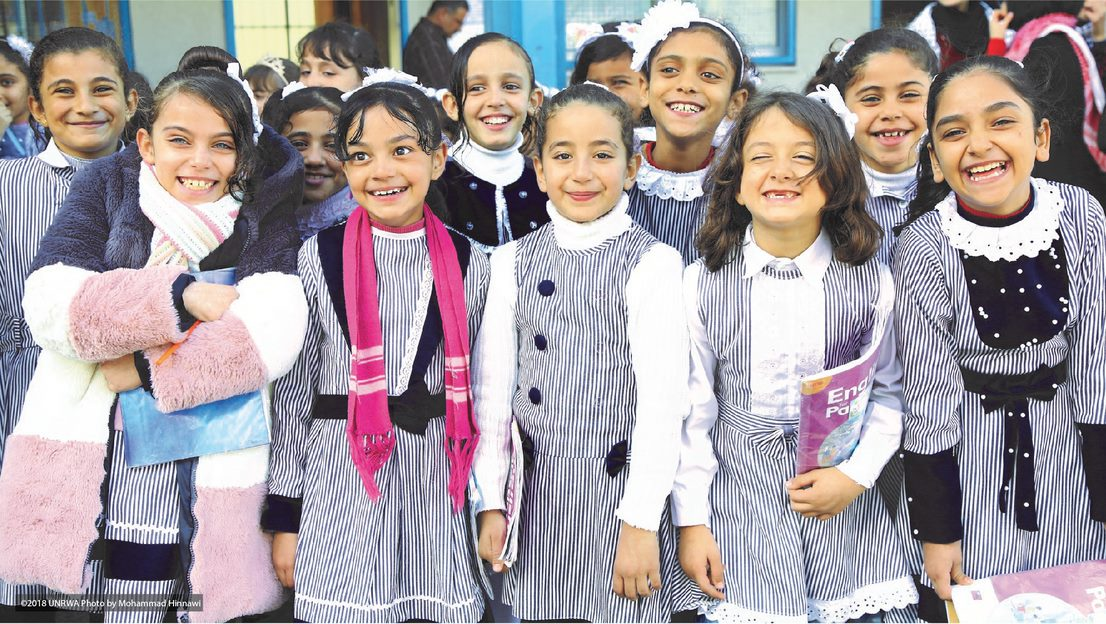 Adopt a school in Gaza to provide quality education for Palestine refugee children