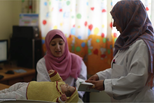 Supporting primary healthcare for Palestine refugees in Gaza