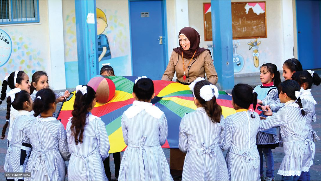 Providing psychosocial support to Gaza's children